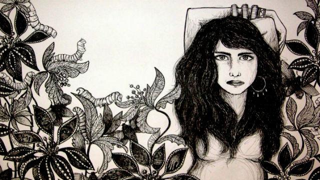 Among flowers and creep